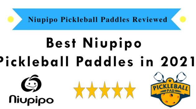 Best Niupipo Pickleball Paddle - Review and Comparison Guide